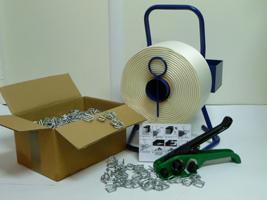 Textil Umreifungsband Stahlschnallen f 13mm 1000 St