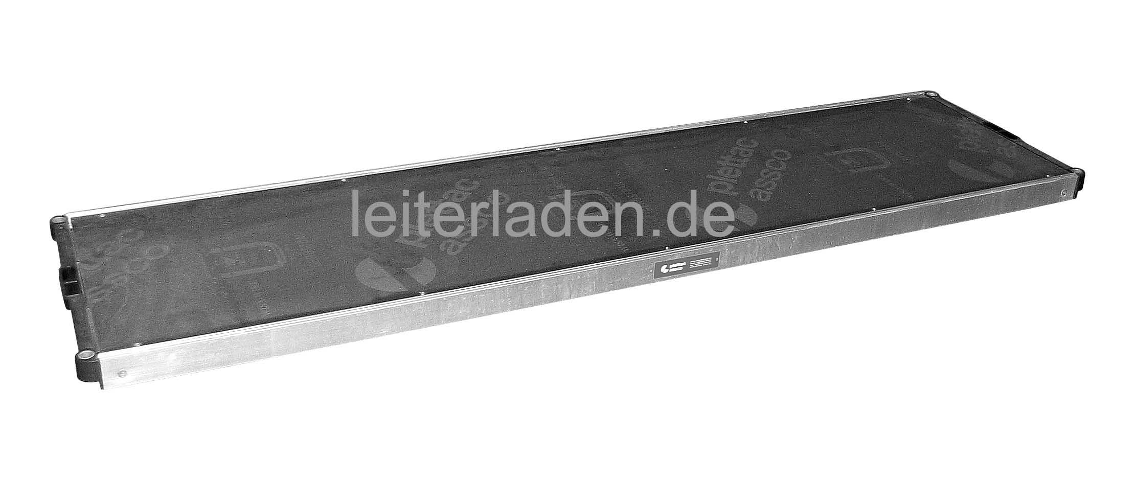 plettac Alu-Rahmentafel SL Auflage mit Sperrholzbelag